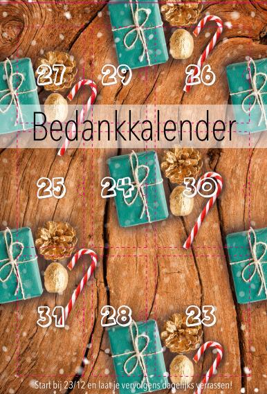 Van Keulen Geschenken Bedankkalender Voorbeeld